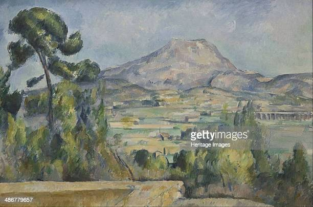 Montagne SainteVictoire c 1890 Artist Cézanne Paul