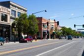 USA, Montana, Bozeman, Business area