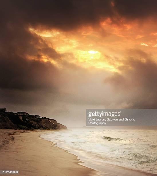 Montauk Sunrise on the Beach