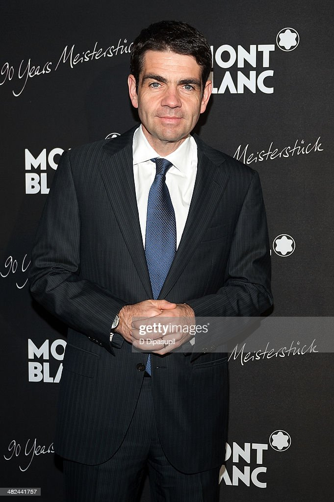 Montblanc CEO Jerome Lambert attends Montblanc Celebrates 90 Years Of Meisterstuck at Guastavino's on April 3 2014 in New York City