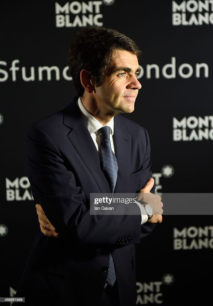 Montblanc CEO Jerome Lambert attends the Montblanc Meisterstuck Sfumato Launch on April 1 2015 in London England