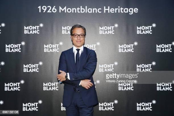 Montblanc International Nicolas Baretzki attends '1926 Montblanc Heritage Launch event' on June 14 2017 in Florence Italy