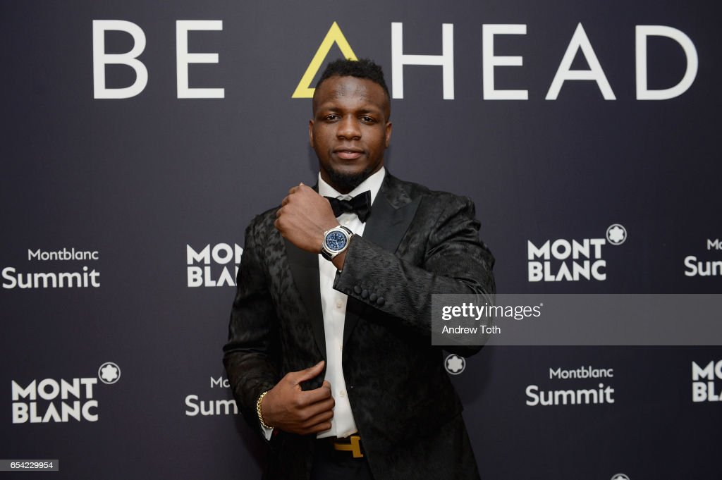 Montblanc Unveils First-Ever Smartwatch, The Summit Collection, With Atlanta Falcon Mohamed Sanu