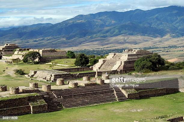 Monte Alban throne room