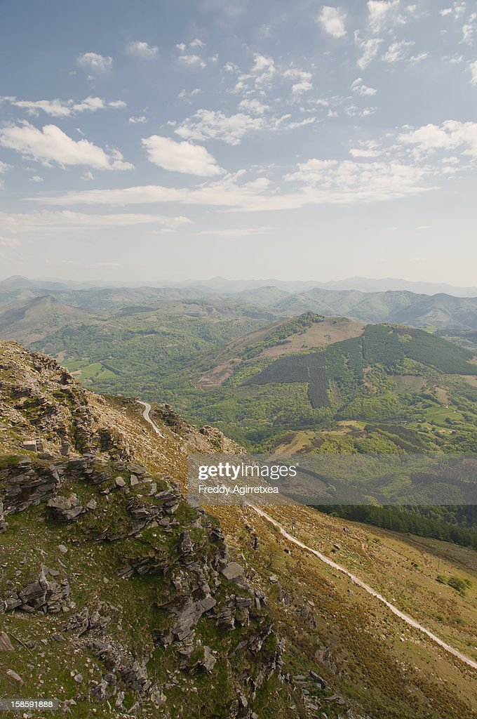 monte de Larrun : Stock Photo