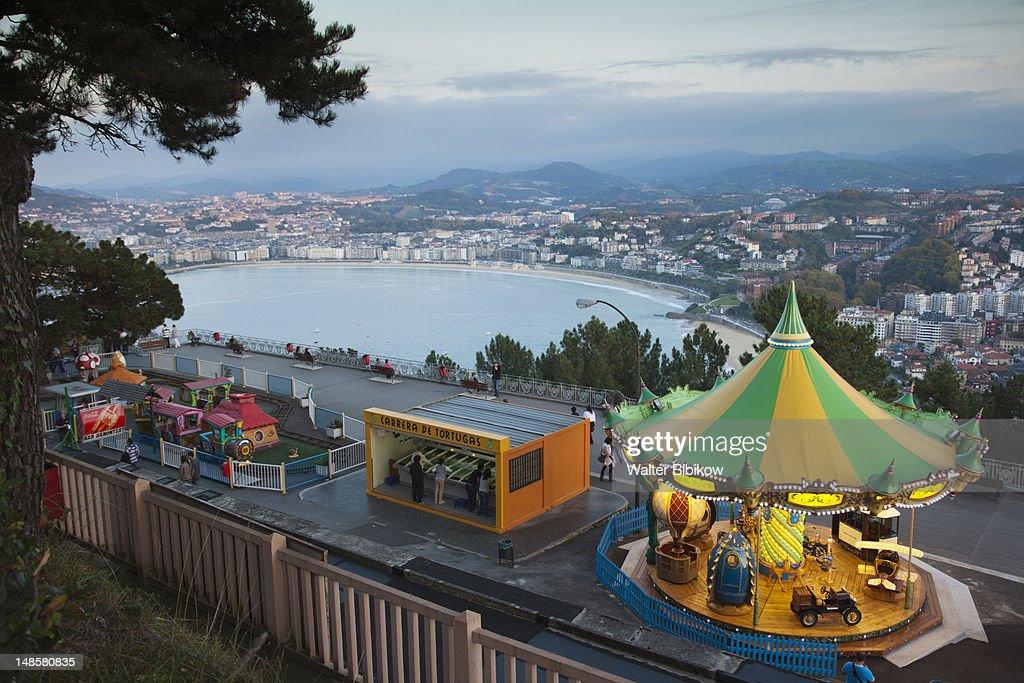 Monte Igueldo amusement park.