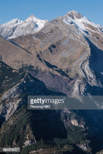 Monte Perdido im Nationalpark Ordesa, Huesca. Spanien. : Stock-Foto