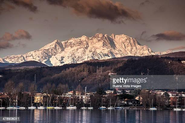 Monte Rosa and Lake Maggiore