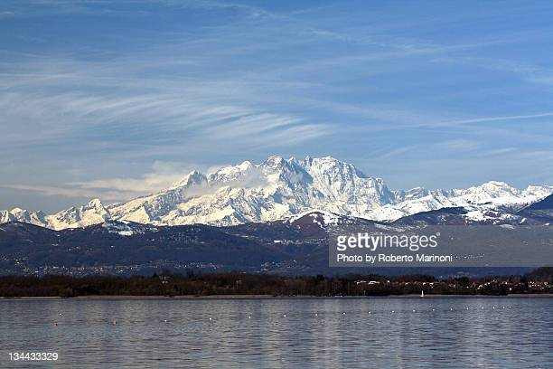 Monte Rosa in Italy
