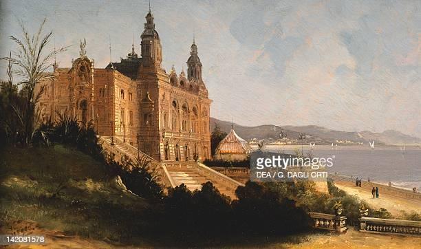 Montecarlo Casino Monaco 19th century