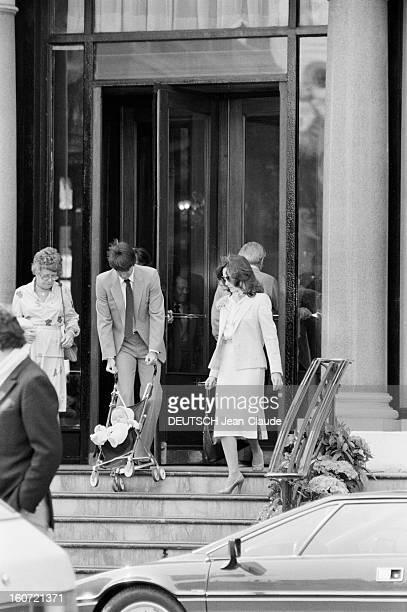 Montecarlo Tennis Tournament 1980 En mai 1980 à Monte Carlo pendant le tournoi de tennis Jimmy CONNORS et sa femme Patty se sont installés à l'hôtel...