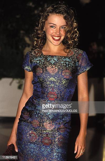 MonteCarlo world music awards In Monaco City Monaco On May 14 1992Kylie Minogue