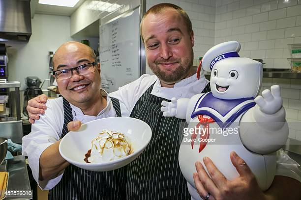 TORONTO ON JULY 17 Montecito executive chef Matt Robertson and executive pastry chef Steve Song show us how they make the signature...
