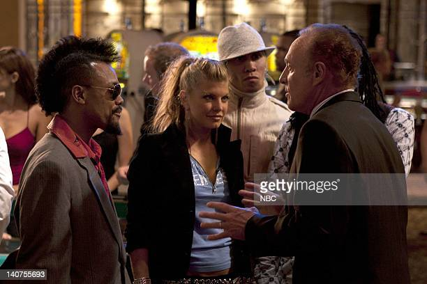 LAS VEGAS 'Montecito Lancers' Episode 7 Pictured apldeap Fergie Taboo of The Black Eyed Peas James Caan as Ed Deline Photo by Chris HastonNBC/NBCU...