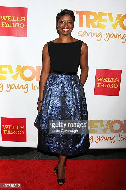 Montego Glover attends 2014 'TrevorLIVE NY' Benefit at Marriott Marquis Hotel on June 16 2014 in New York City