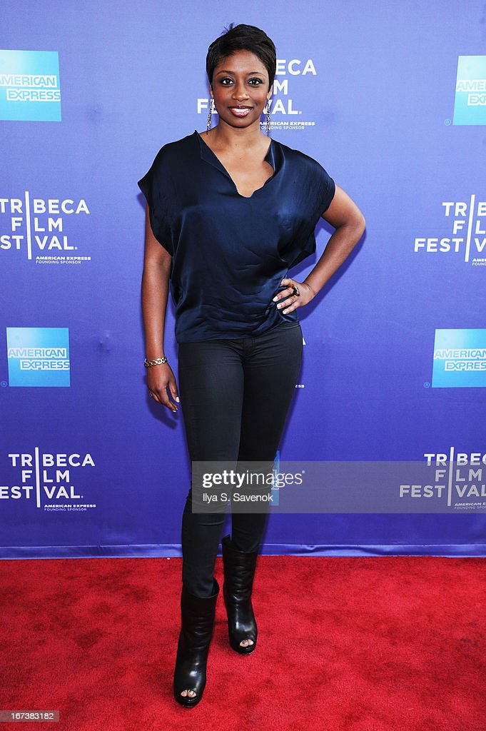 Montego Glover attends HBO's 'The Battle of amfAR' premiere at Tribeca Film Festival on April 24, 2013 in New York City.