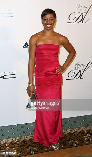 Montego Glover attends the 31st Annual Drama League's 31st Annual 'Musical Celebration of Broadway' honoring James Earl Jones at The Pierre Hotel on...