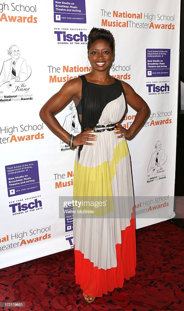 <a gi-track='captionPersonalityLinkClicked' href=/galleries/search?phrase=Montego+Glover&family=editorial&specificpeople=2235786 ng-click='$event.stopPropagation()'>Montego Glover</a> attends the 5th Annual National High School Musical Theater Awards at Minskoff Theatre on July 1, 2013 in New York City.