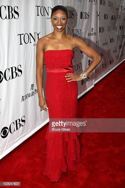Montego Glover attends the 64th Annual Tony Awards at Radio City Music Hall on June 13 2010 in New York City