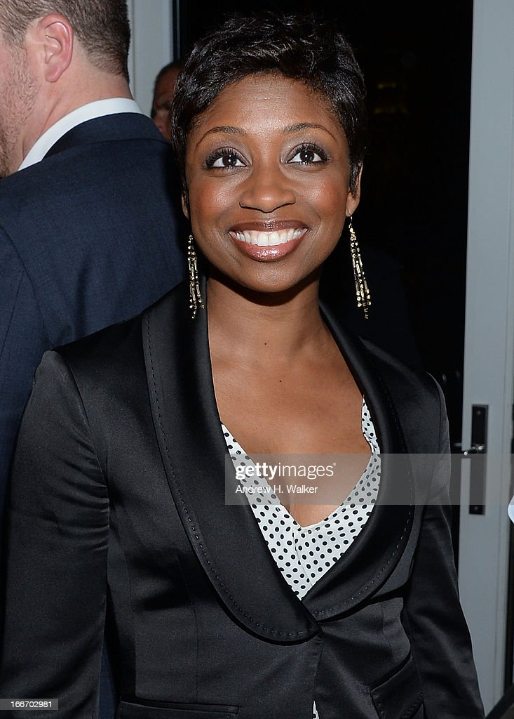 Montego Glover attends the after party for the Cinema Society and Men's Fitness screening of 'Pain and Gain' at Jimmy At The James Hotel on April 15, 2013 in New York City.