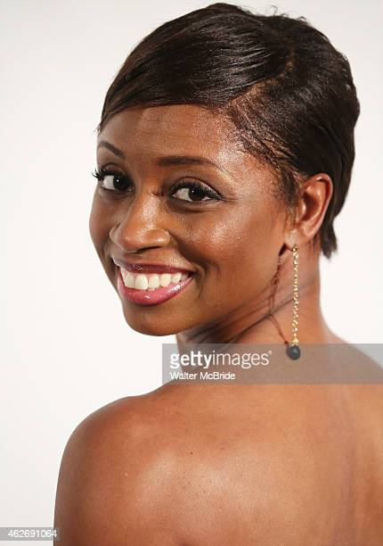 Montego Glover attends the Drama League's 31st Annual 'Musical Celebration of Broadway' honoring James Earl Jones at the Pierre Hotel on February 2...