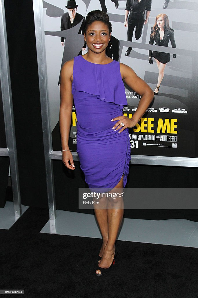 Montego Glover attends the 'Now You See Me' New York Premiere at AMC Lincoln Square Theater on May 21, 2013 in New York City.