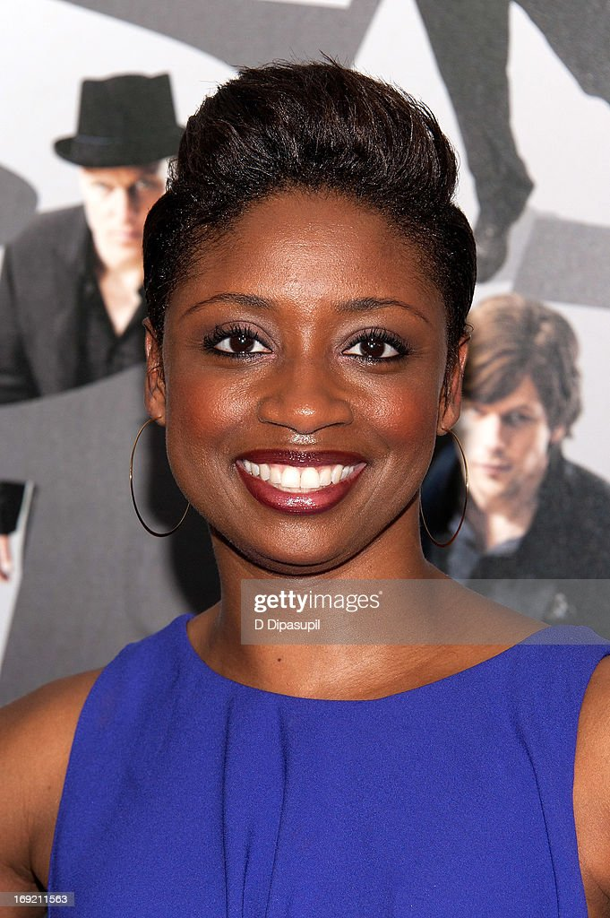 Montego Glover attends the 'Now You See Me' premiere at AMC Lincoln Square Theater on May 21, 2013 in New York City.