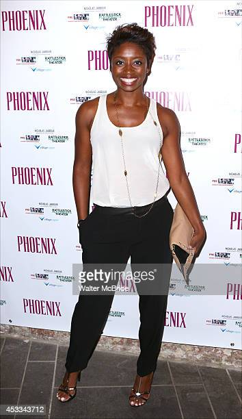 Montego Glover attends the Opening Night Performance of 'Phoenix' at the Cherry Lane Theatre on August 7 2014 in New York City