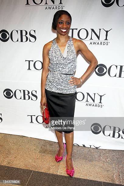 Montego Glover attends the Tony eve cocktail party at the Intercontinental New York Barclay on June 12 2010 in New York City