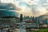 Vista panorámica de la ciudad de Monterrey