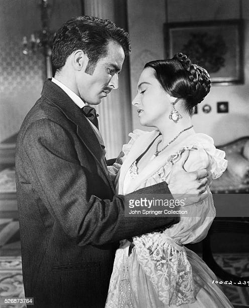 Montgamery Clift and Olivia de Havilland portray lovers quarreling in the 1949 film The Heiress The film was based on the novel Washington Square...