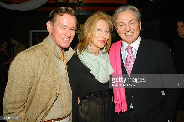 Montgomery Frazier Meryl Stern and Geoffrey Bradfield attend An Intimate Evening of Food Fashion and Gossip with the Inimitable Jackie Rogers at Jour...