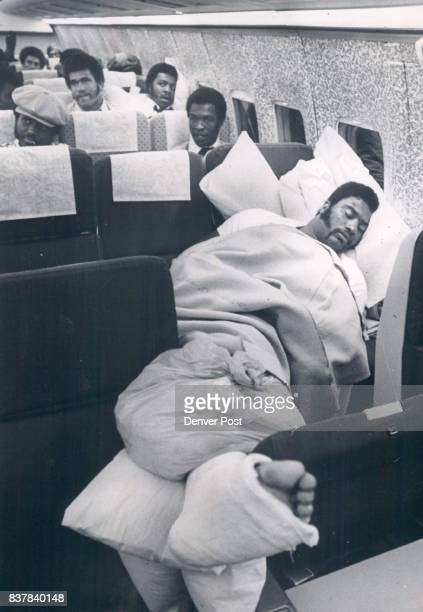 Montgomery Marv Montgomery on UAL flight to Denver Cushioned Inspiration The fractured leg of tackle Marv Montgomery credited with inspiring the...