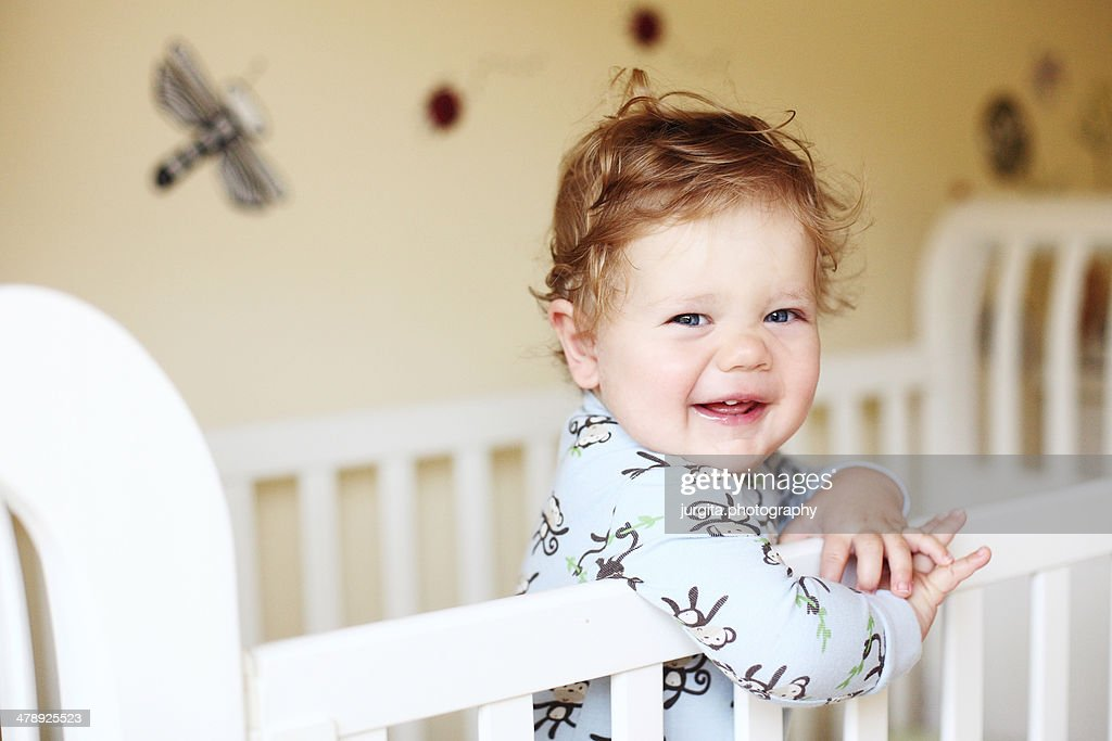 11 months baby boy : Stock Photo
