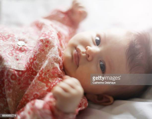 A 2 months old baby girl