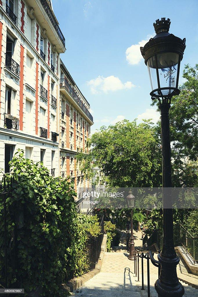 Montmarte Stairs, Paris : Stock Photo