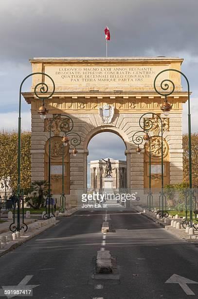 Montpellier Arc de Triomphe