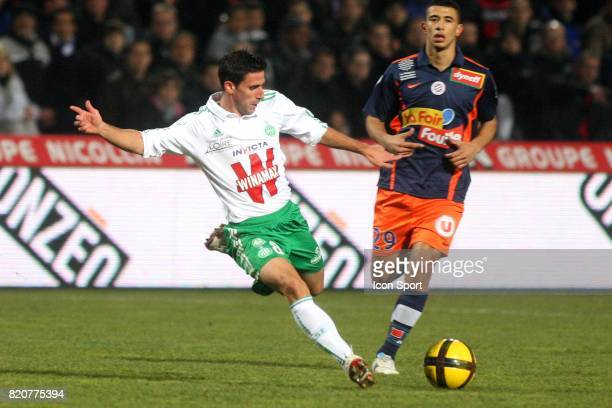 ALONSO Montpellier / Saint Etienne 22e journee de Ligue 1
