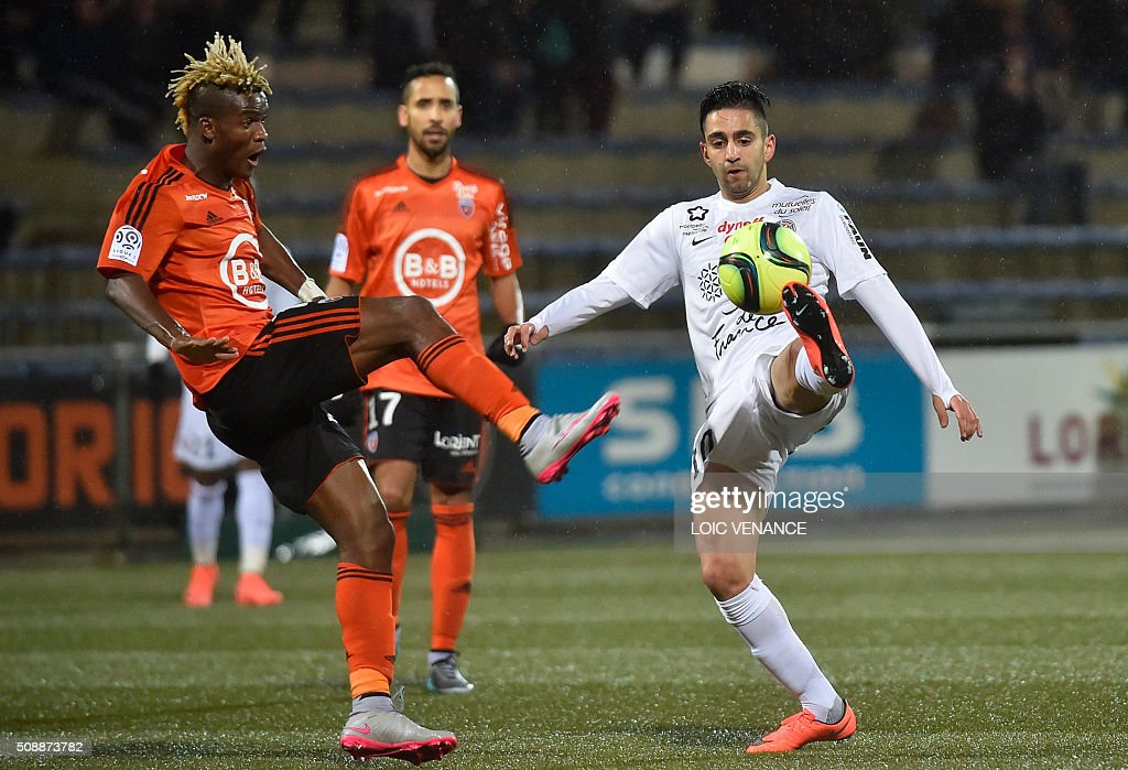 Fc lorient v montpellier herault sc ligue 1 getty images for Lorient match