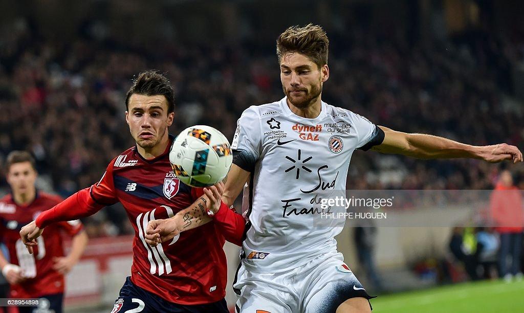 Lille OCS v Montpellier Herault SC - Ligue 1