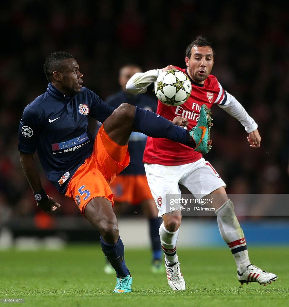 Soccer UEFA Champions League Group B Arsenal v Montpellier