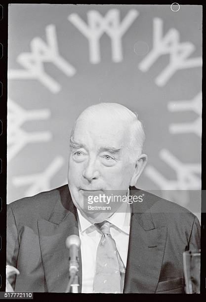 Former Australian prime minister Sir Robert Menzies told an impromptu news conference at EXPO 67 that China is not looking for a major war at this...