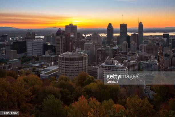 Montreal Cityscape at Sunrise, Canada