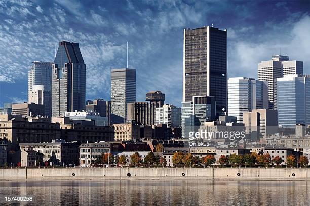 Montreal Stadt im Sommer