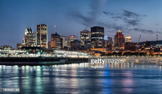 Montreal Downtown Skyline