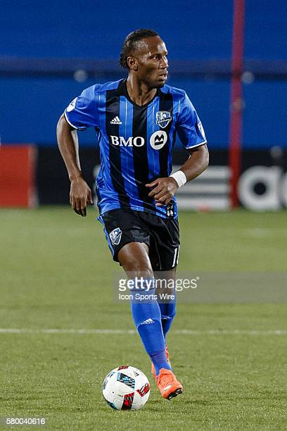 Montreal Impact forward Didier Drogba during the MLS match between the Montreal Impact and FC Dallas at Toyota Stadium in Frisco TX FC Dallas defeats...