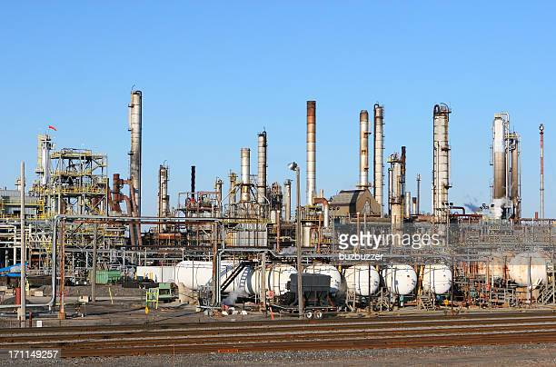 Montreal Oil Refinery
