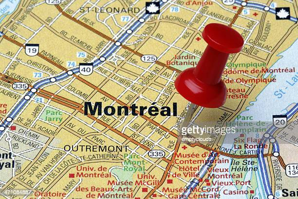 Montreal on a Map