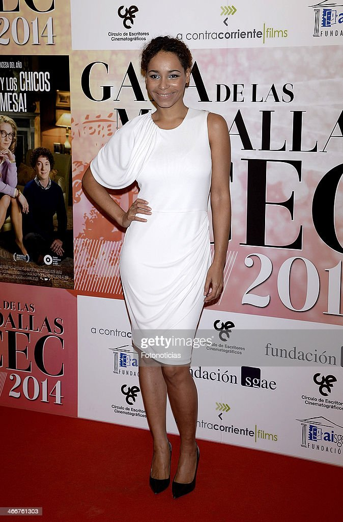 Montse Pla attends the 'CEC' medals 2014 ceremony at the Palafox cinema on February 3, 2014 in Madrid, Spain.