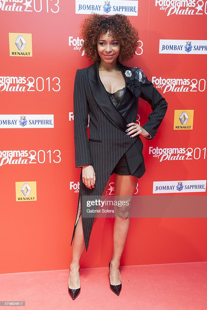 Montse Pla attends the 'Fotogramas Awards' 2013 at Joy Slava on February 24, 2014 in Madrid, Spain.